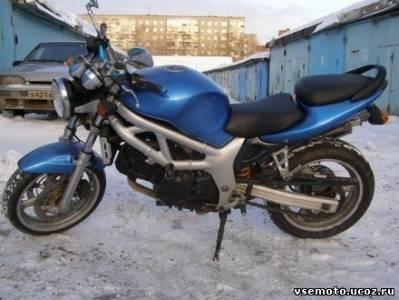 Мотоцикл suzuki sv650 2000 г в пробег 21000 км